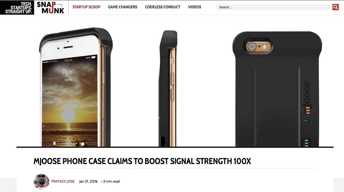 mJoose Case Claims Amplify Signal Strength 100x